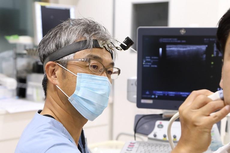 咽頭がんの検査